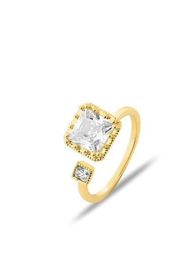 Luis Polo K-YZK 2103 Taşlı Kadın Yüzüğü Altın